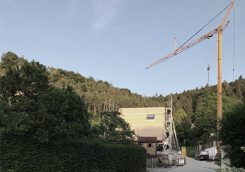 Richtfest Austragshaus Altmühltal
