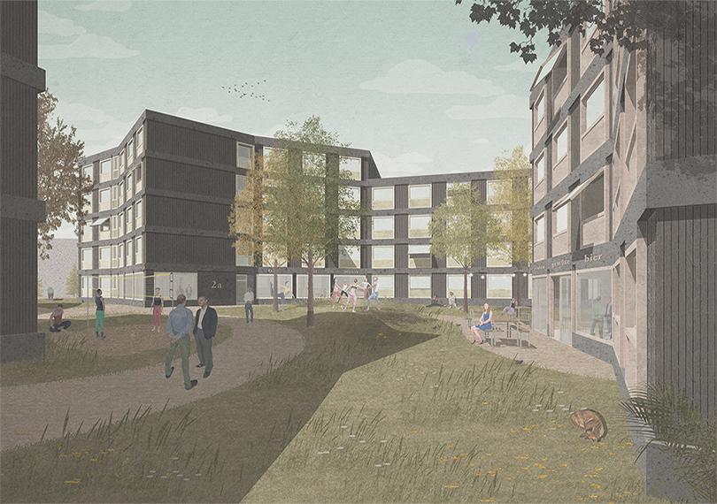 nbundm* erreichen Anerkennung beim Wettbewerb Studentenwohnheim in Nürnberg
